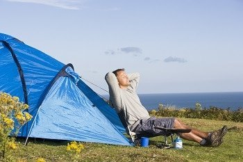 How To Watch TV While Camping