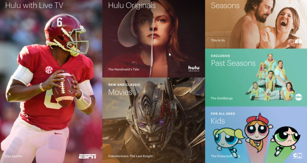 How to watch TV without cable or satellite - Hulu