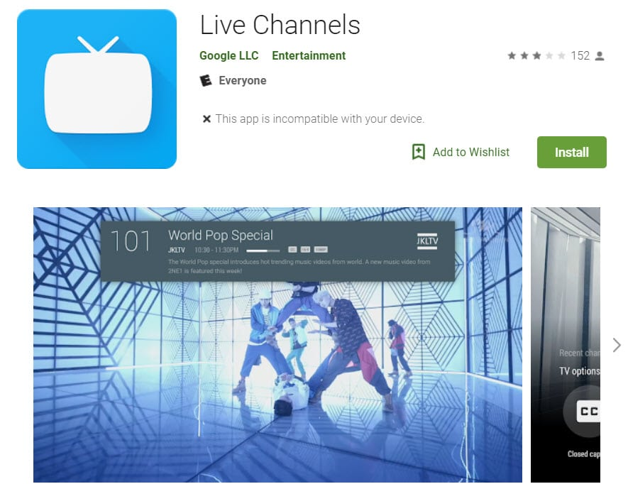 Free TV - Live Channels