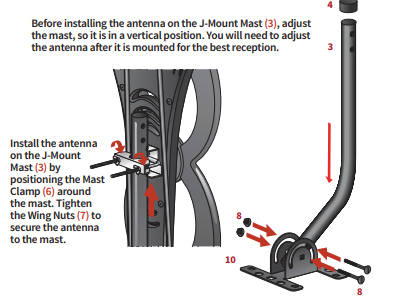 Antennas Direct Clearstream 2MAX Assembly 4